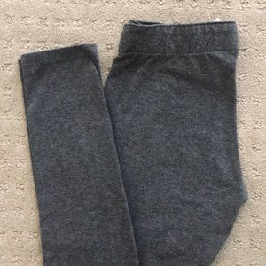 Garage stretch leggings, charcoal gray W XS